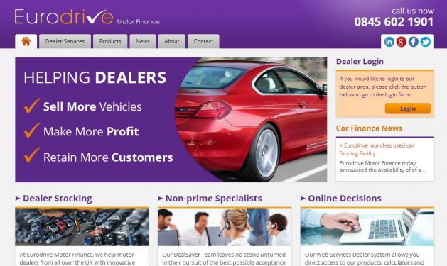 Eurodrive Car Dealer Finance