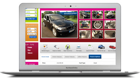 Car Dealer Website Software
