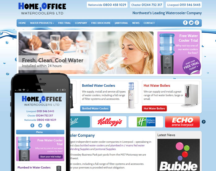 h2o-mobile-web-design